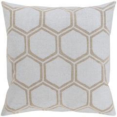 Snazzy geometric pillow by Surya available at Layla Grace