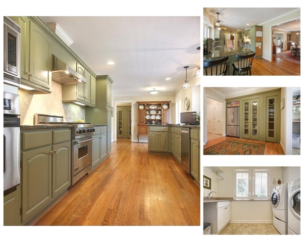 Rockingham kitchen collage