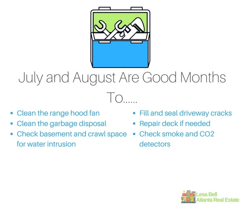 July and August Are Good Months to